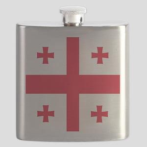 Flag of Georgia Flask