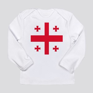 Flag of Georgia Long Sleeve T-Shirt