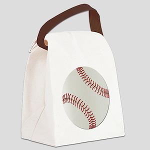 Baseball Ball - No Txt Canvas Lunch Bag