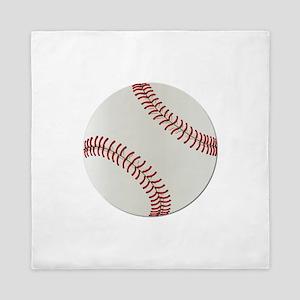 Baseball Ball - No Txt Queen Duvet