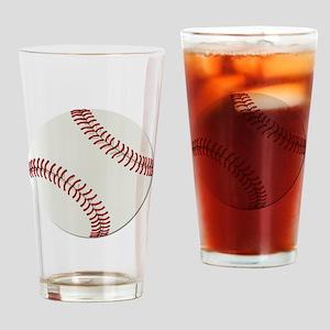 Baseball Ball - No Txt Drinking Glass