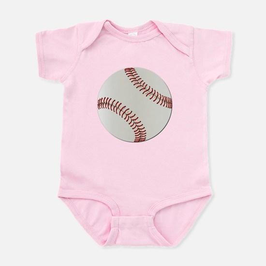 Baseball Ball - No Txt Infant Bodysuit