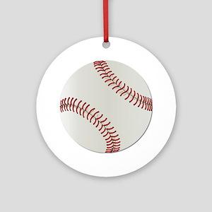 Baseball Ball - No Txt Ornament (Round)