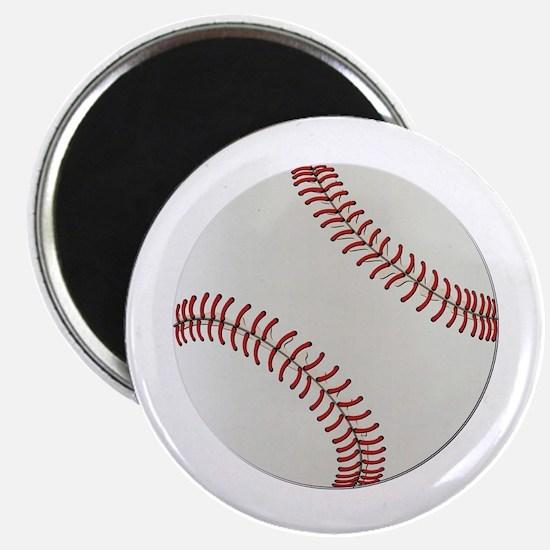 "Baseball Ball - No Txt 2.25"" Magnet (10 pack)"