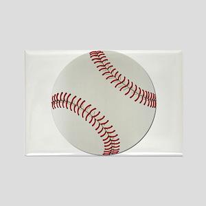 Baseball Ball - No Txt Rectangle Magnet