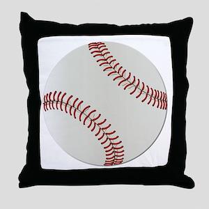 Baseball Ball - No Txt Throw Pillow