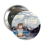 "Abrahamster in Alaska 2.25"" Button (10 pack)"