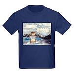 Abrahamster in Alaska Kids Dark T-Shirt