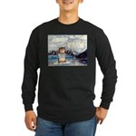 Abrahamster in Alaska Long Sleeve Dark T-Shirt