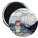 "Abrahamster in Alaska 2.25"" Magnet (100 pack)"