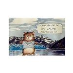 Abrahamster in Alaska Rectangle Magnet (100 pack)