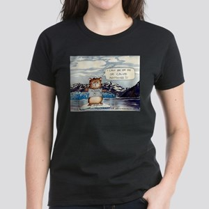 Abrahamster in Alaska Women's Dark T-Shirt