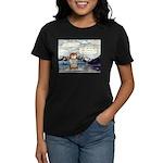 Abrahamster in Alaska Women's Dark T-Shirt