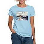 Abrahamster in Alaska Women's Light T-Shirt