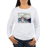 Abrahamster in Alaska Women's Long Sleeve T-Shirt