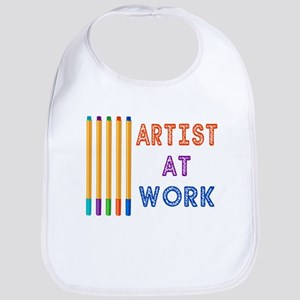 Artist At Work Oil Pastels Bib