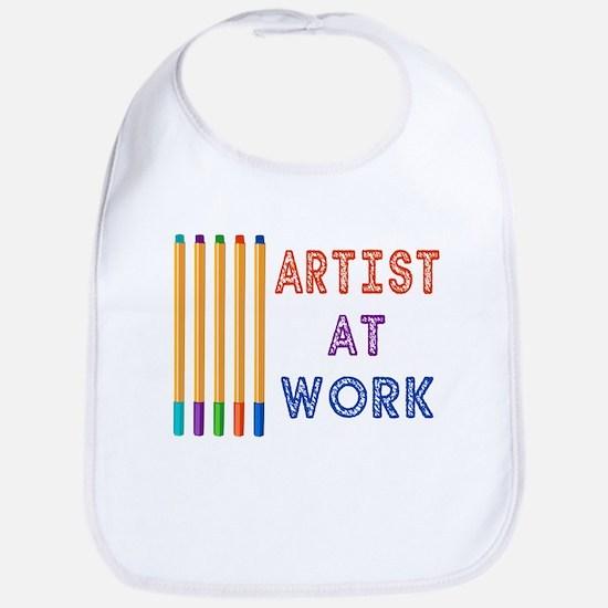 Artist At Work Oil Pastels Bib