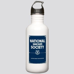 National Sarcasm Socie Stainless Water Bottle 1.0L