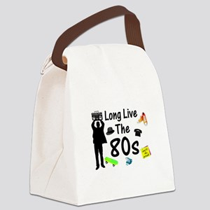 Long Live The 80s Culture Canvas Lunch Bag