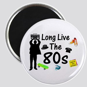 Long Live The 80s Culture Magnet