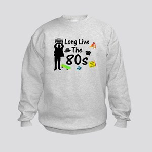 Long Live The 80s Culture Kids Sweatshirt