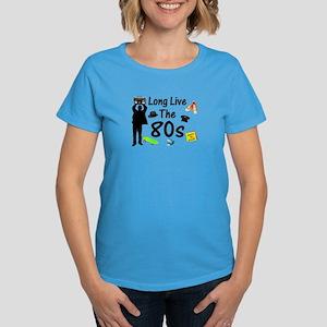 Long Live The 80s Culture Women's Dark T-Shirt