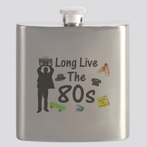 Long Live The 80s Culture Flask