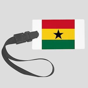 Flag of Ghana Large Luggage Tag