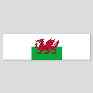 Flag of Wales Bumper Sticker