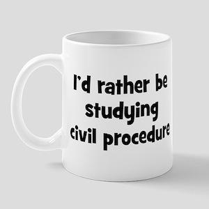 Study civil procedure Mug