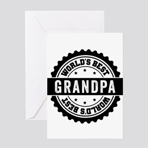 World's Best Grandpa Greeting Cards