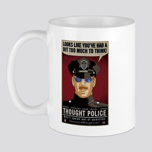 Thought Police Free Speech Free Thought Mug