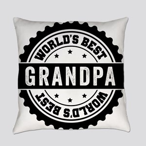 World's Best Grandpa Everyday Pillow
