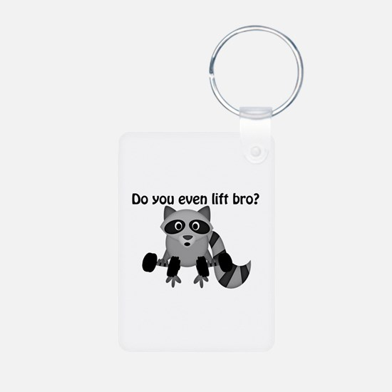Do You Even Lift Bro Racco Keychains