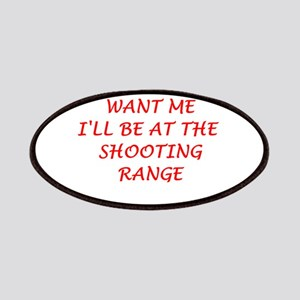 shooting range Patches