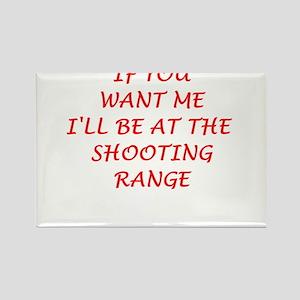 shooting range Magnets