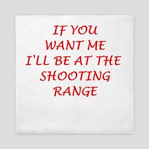 shooting range Queen Duvet