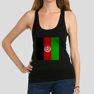 Flag of Afghanistan Racerback Tank Top
