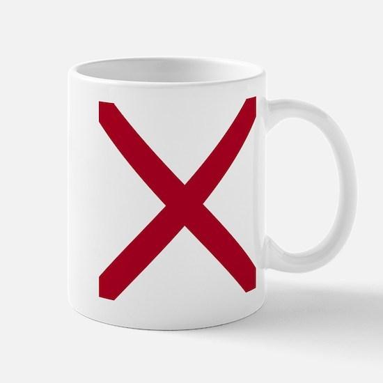 Alabama State flag Mugs