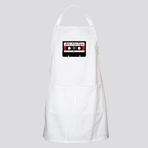 80s Music Mix Tape Cassette Apron