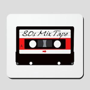 80s Music Mix Tape Cassette Mousepad