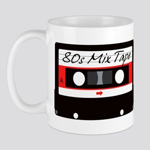 80s Music Mix Tape Cassette Mug