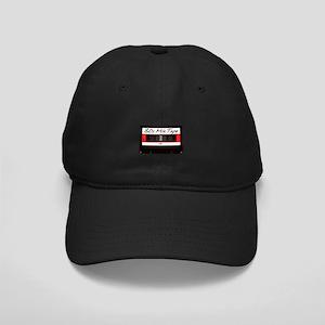 80s Music Mix Tape Cassette Black Cap