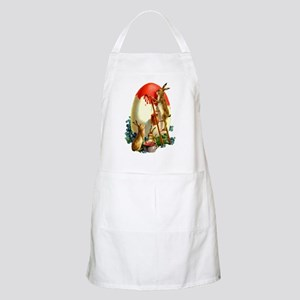Easter rabbits painting Apron