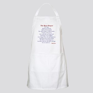 Beer Prayer, Beer Humor BBQ Apron