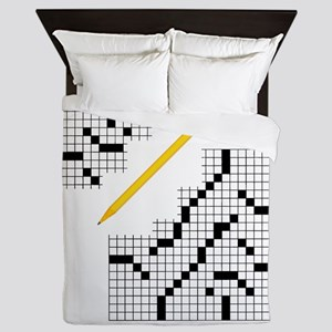 Crossword Queen Duvet