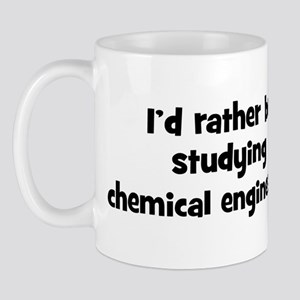 Study chemical engineering Mug