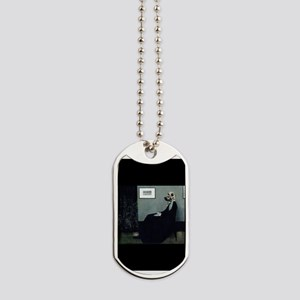 Whistler's Mother's Dog Dog Tags
