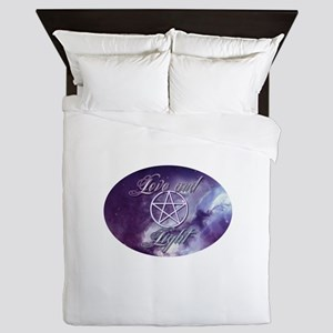 Love and Light Queen Duvet