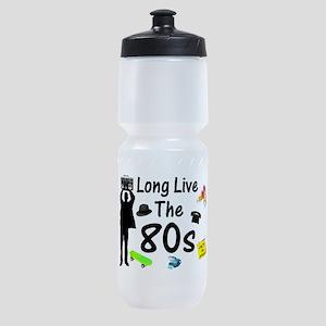 Long Live The 80s Culture Sports Bottle